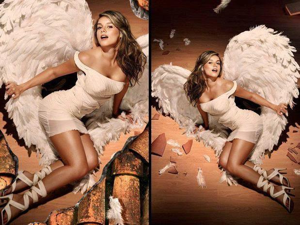 Alejandra Buitrago como angel