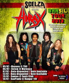 HIRAX BRASIL TOUR 2013