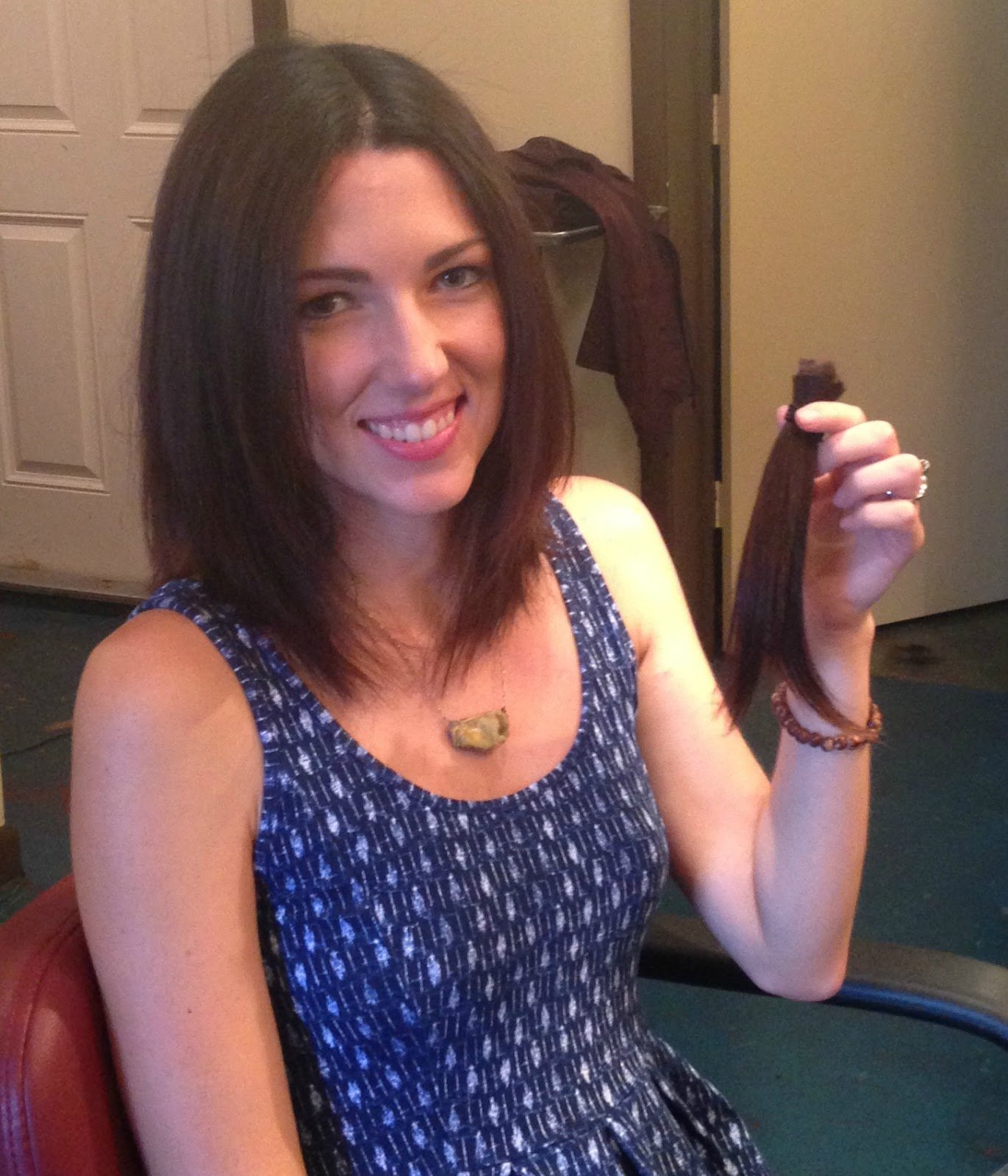 Donated my hair to Children With Hair Loss