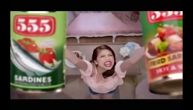 Maine Mendoza a.k.a Yaya Dub 555 Sardines TV Commercial