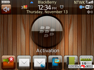 Tema BlackBerry 8520 Wood Download Tema BlackBerry 8520 Gratis 2012