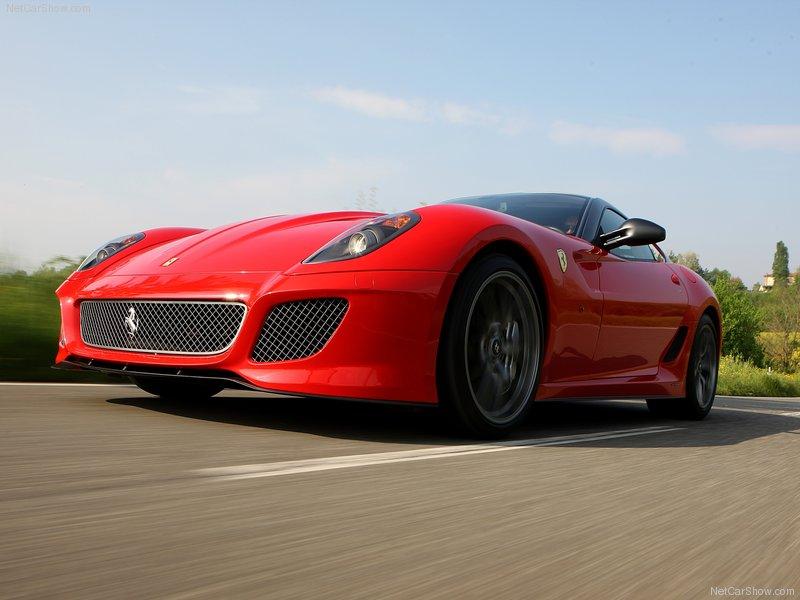 2011 New Ferrari 599 GTO V12