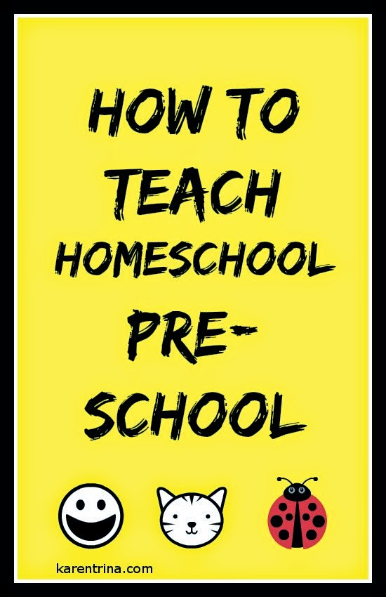 How to teach preschool