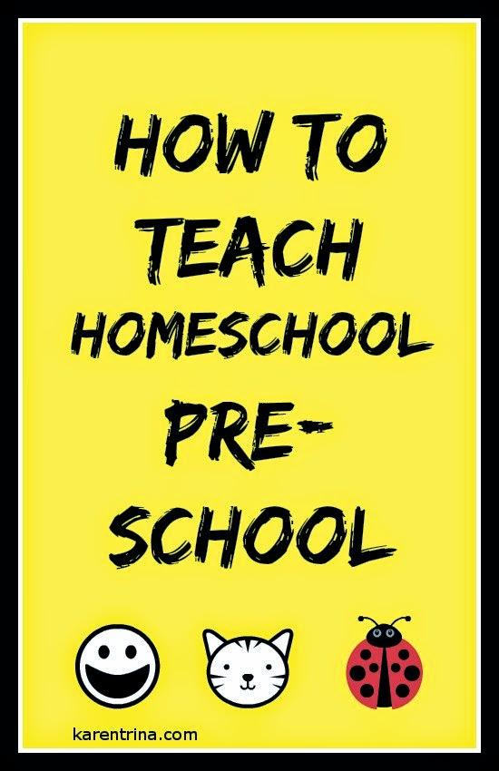 How to teach preschool