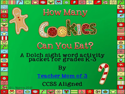 http://www.teacherspayteachers.com/Product/How-Many-Christmas-Cookies-Can-You-Eat-Dolch-Sight-Word-Activity-for-K-3-432993
