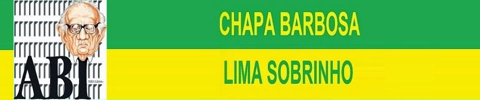 CHAPA BARBOSA LIMA SOBRINHO
