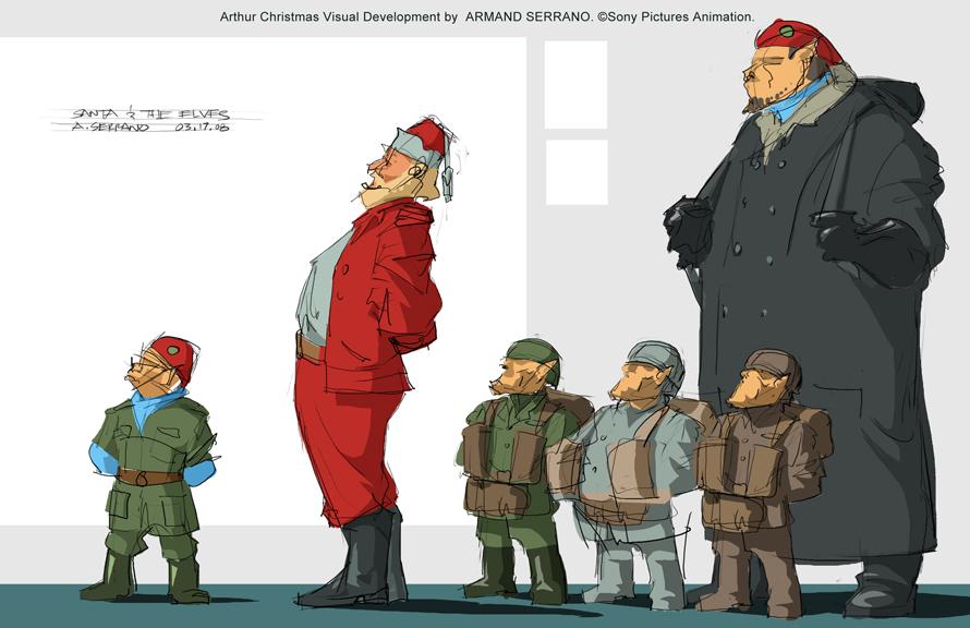 A R M A N D S E R R A N O: Arthur Christmas Opens Nov. 23, 2011!