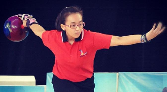 Alisha Nabila Larasati bowler indonesia