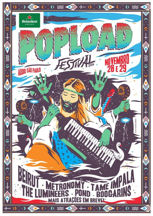 Atrações festival Popload 2014