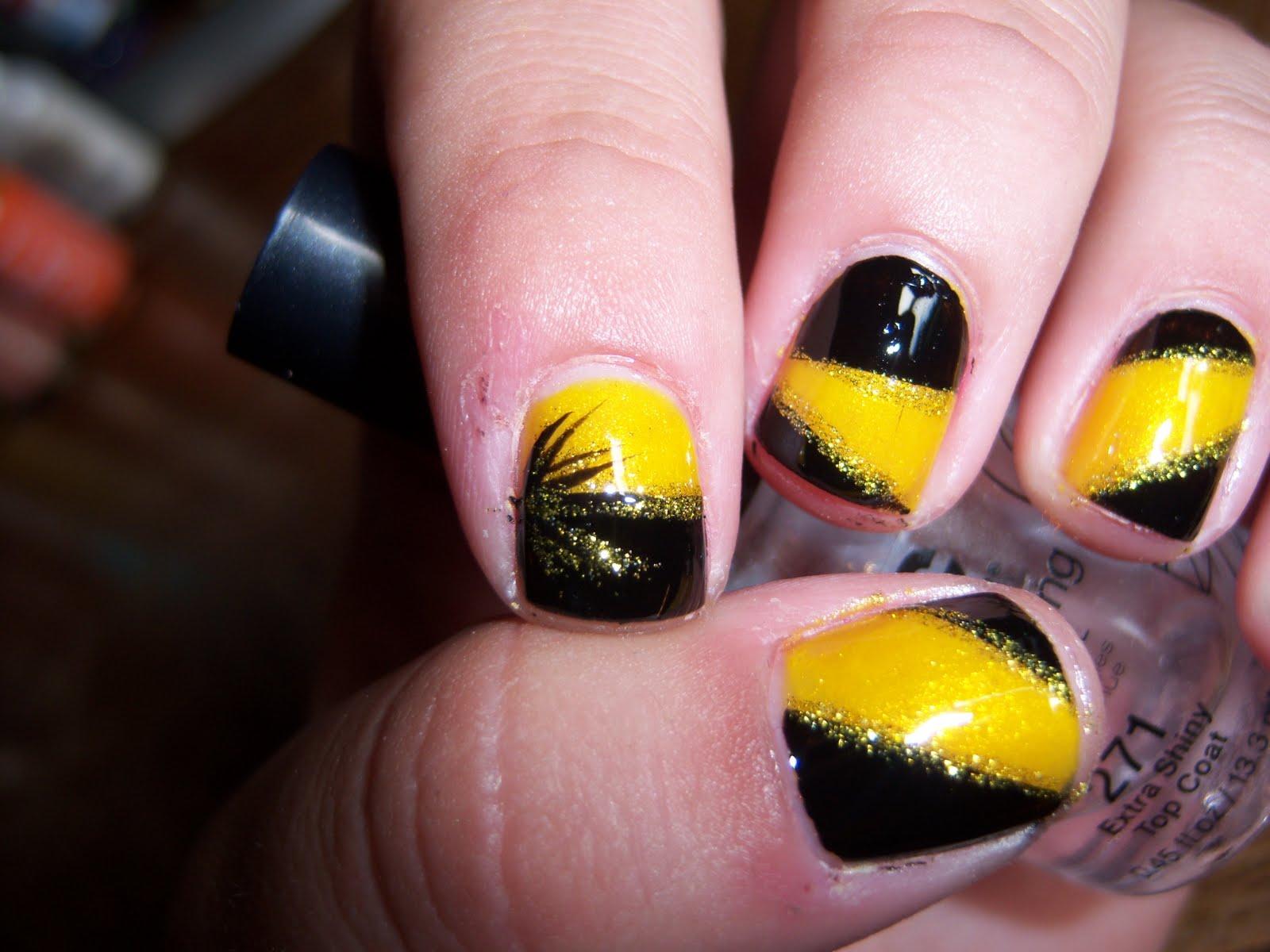Iowa Hawkeye Nail Designs   Best Nail Designs 2018