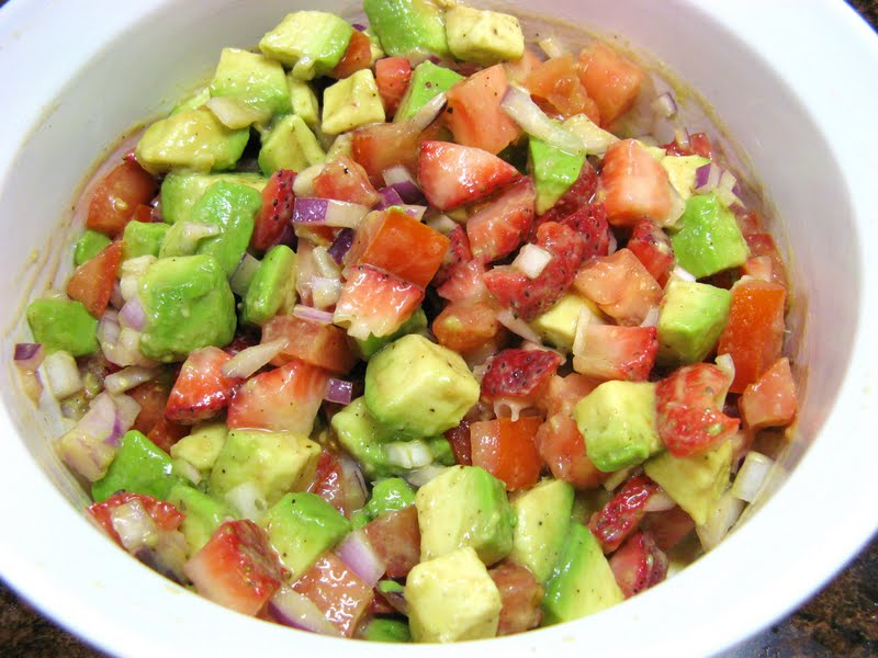Crunchy Tortilla Chicken With Avocado Salsa Recipes — Dishmaps