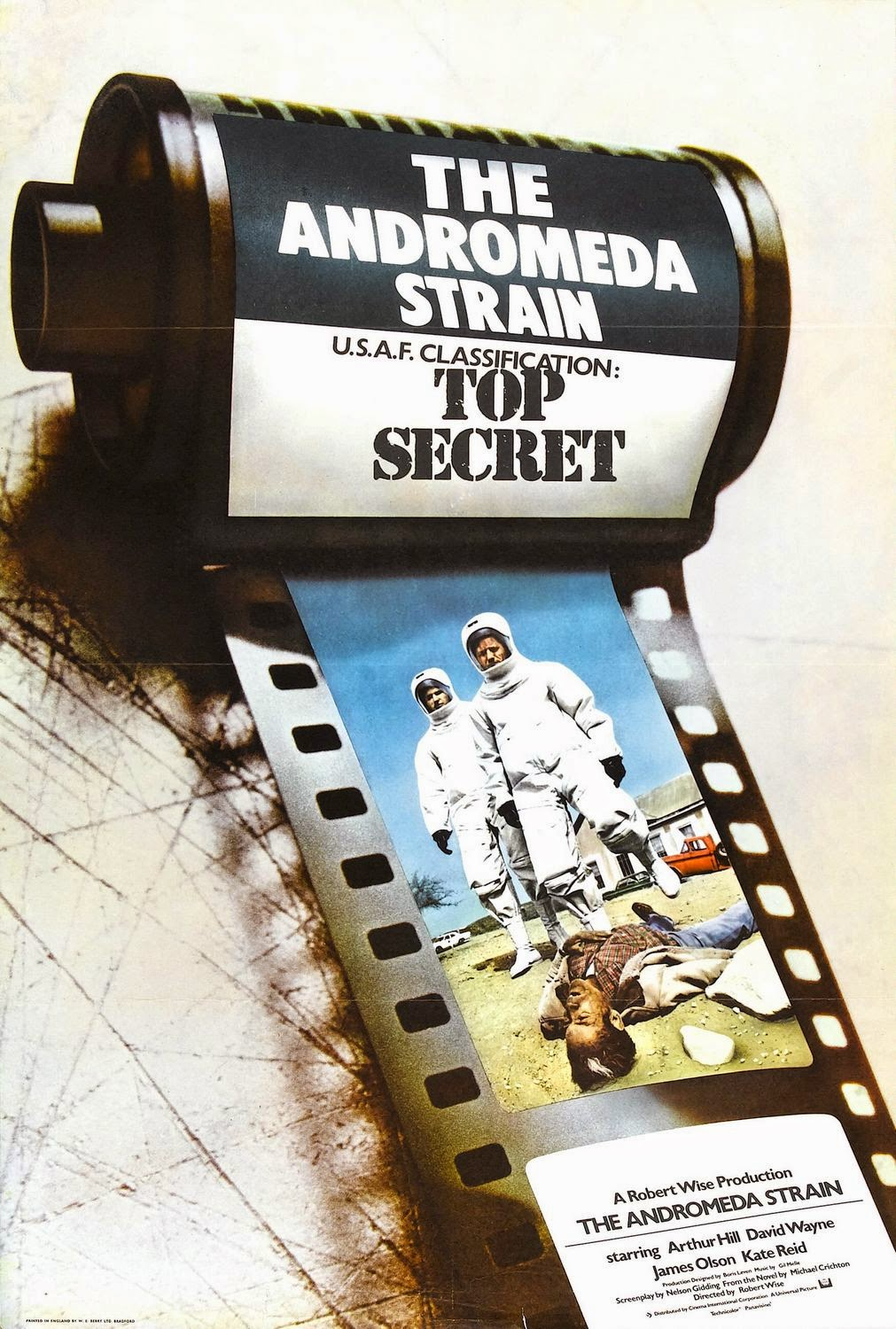 andromeda strain 1971 essay The andromeda strain is a novel written by michael crichton it was later turned into a movie in 1971 the andromeda strain is an amazing story of a weird disease.