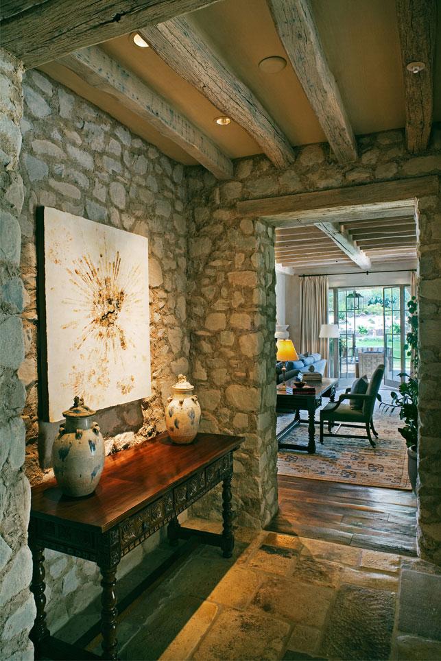 Entrance Foyer Traduccion : Un faro de ideas casa en arizona