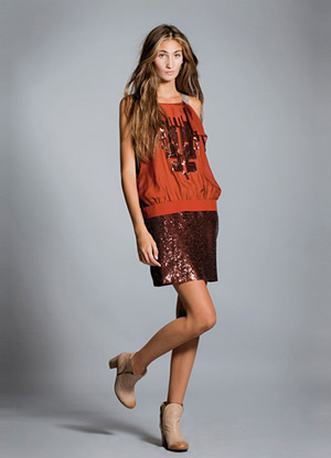 minifalda verano 2013 Hoss Intropia