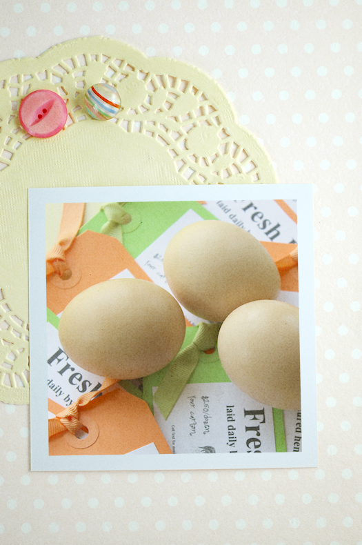 Fresh eggs business card montage 1 by Tori Beveridge AHWT