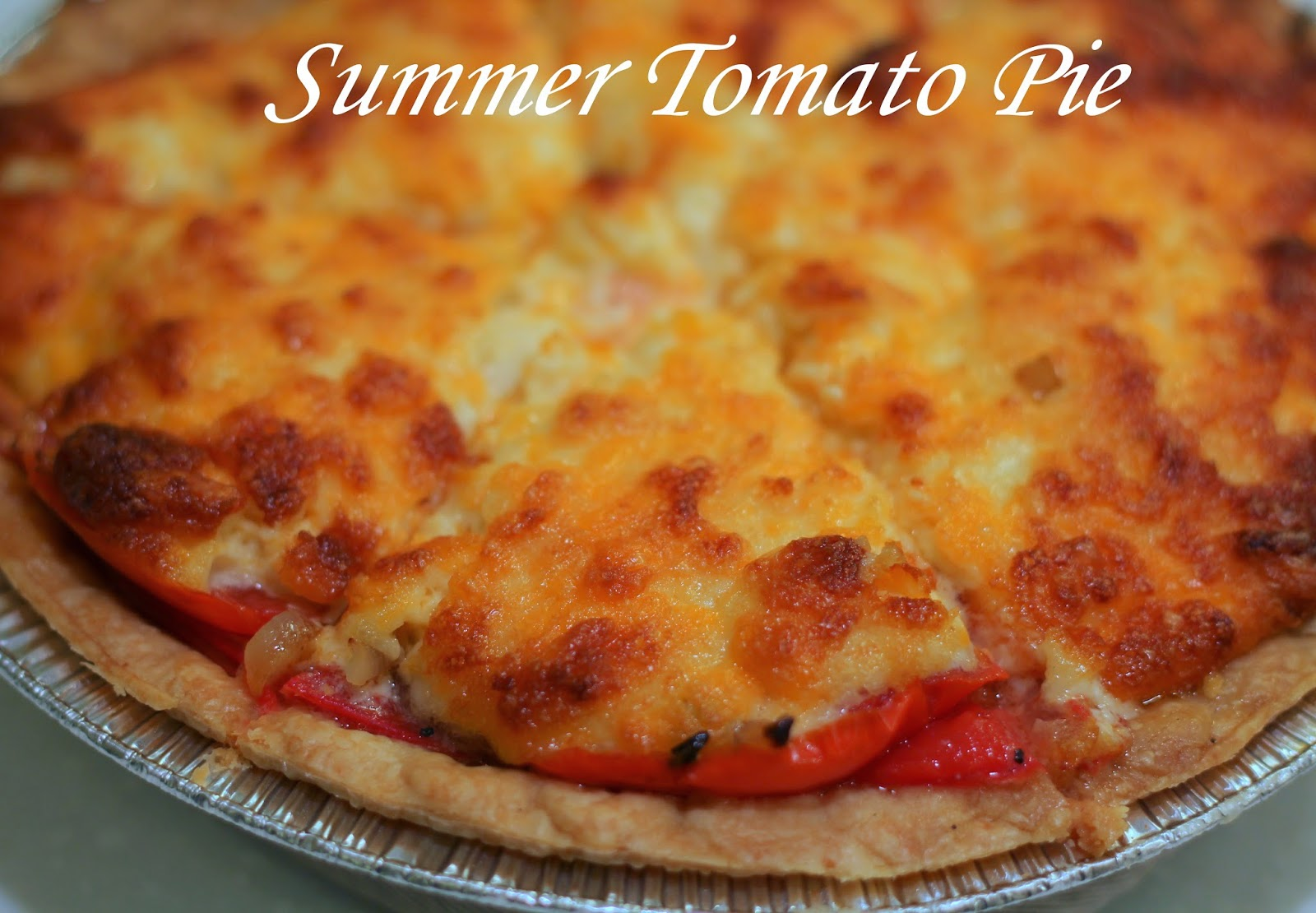 My So-Called (Mommy) Life: Summer Tomato Pie