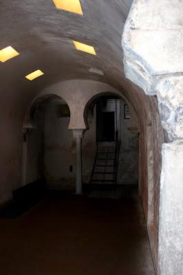 Sala caliente de los baños de Zeid en Toledo