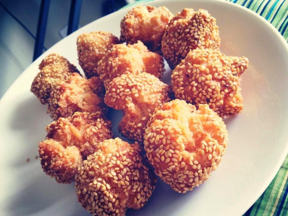 how to cook frozen sesame balls