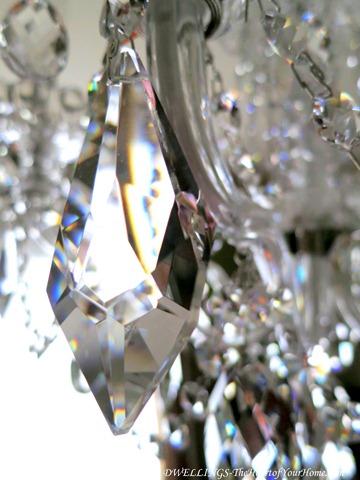 Schonbeck chandelier in the dining room