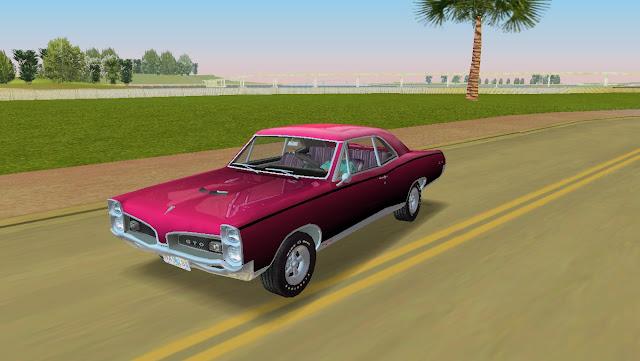 Pontiac GTO Coupe 1967 GTA Vice City