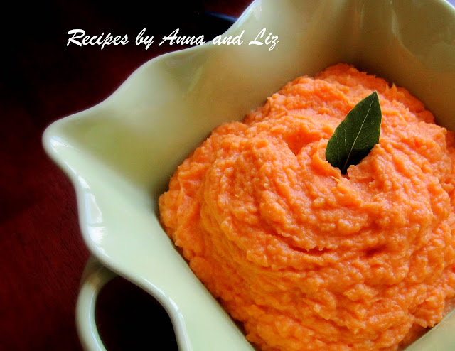 ... ... by Anna and Liz: Sweet Mashed Potatoes with Mascarpone Cheese