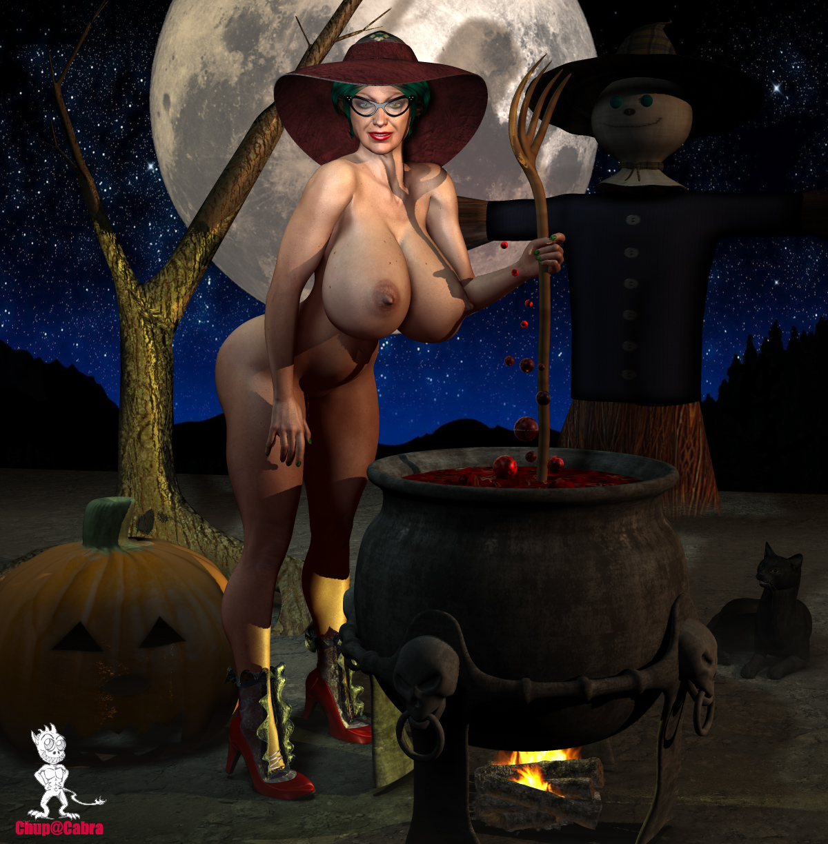 Nude witches pic exposed pics