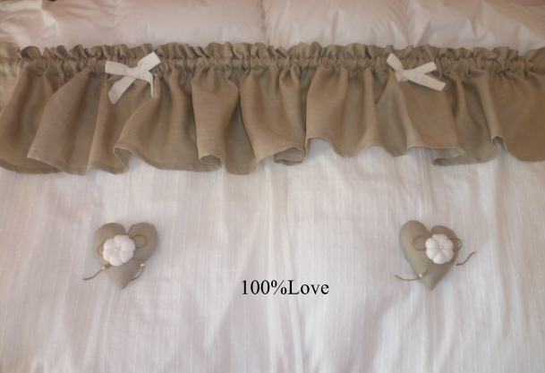 100 love shop tende country mantovane for Mantovane per tende stile country