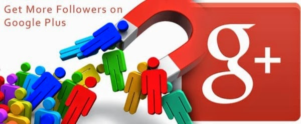 1000 Google Plus Followers or Circles