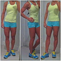 women athletic legs