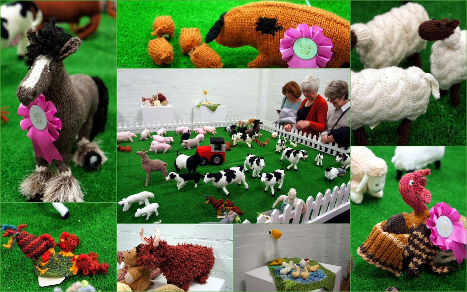 GRANNYS WORLD: Knitting - Spring Knitting and Stitching Show