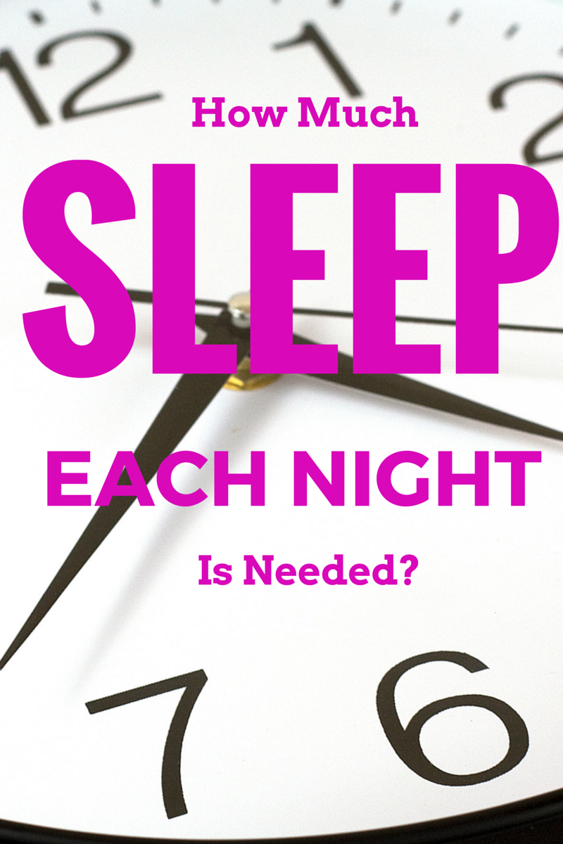 How much sleep is needed each night to stay healthy? (The Health-Minded.com) #health #sleep #wellness