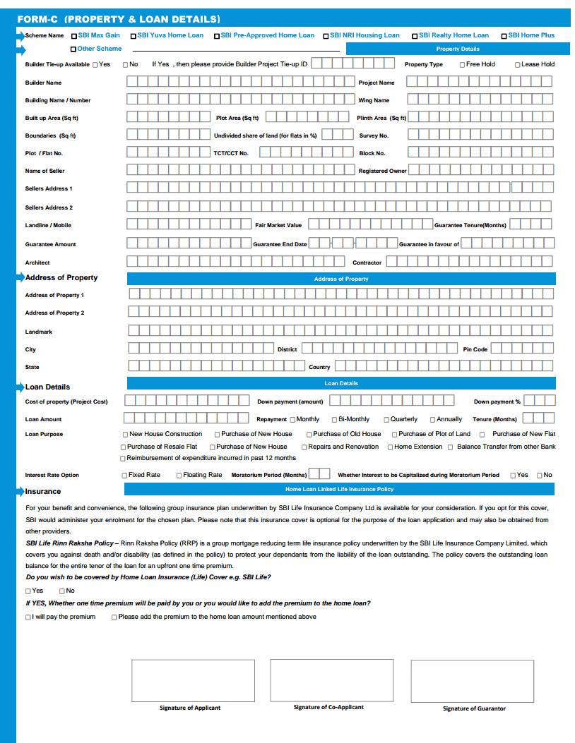 Home Loan Application Home Loan Application Form Indian Bank