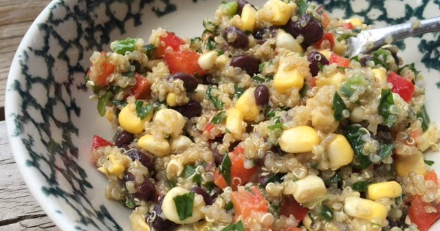 ... Life: Eating For Your Future/Quinoa and Black Bean Vegetable Salad