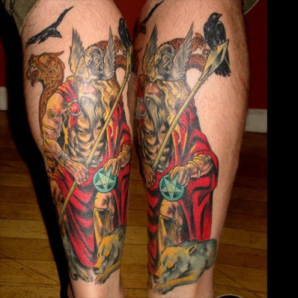 Neo Polytheist Germanic Pagan Tattoos Vikings Tattoos - 600×600