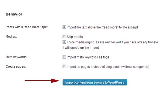 Cara Memindahkan CMS Joomla ke WordPress.