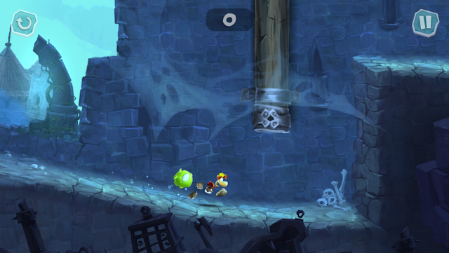 Rayman Adventures is one of the best games of 2015 listed on Editor's choice for iPhone, iPad, iPod Touch and Apple TV. The game is really entertaining with simple controls and fine graphics. Run through many obstacles,