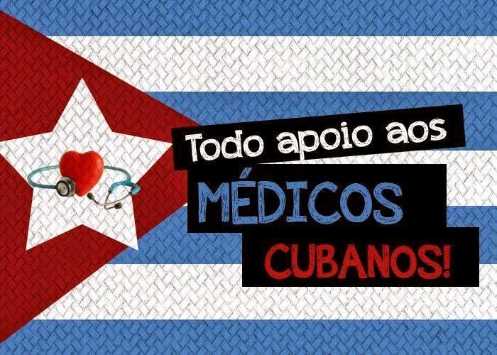 """Abaixo-assinado: em apoio aos Cubanos do """"Mais Médicos"""":"""