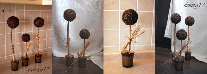 Как сделать дерево на палочке