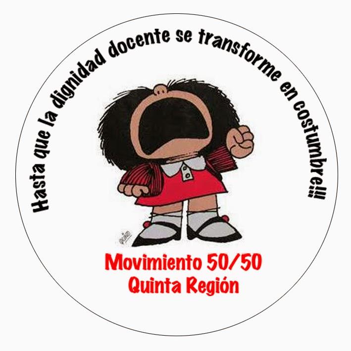 Movimiento 50/50 Quinta Región