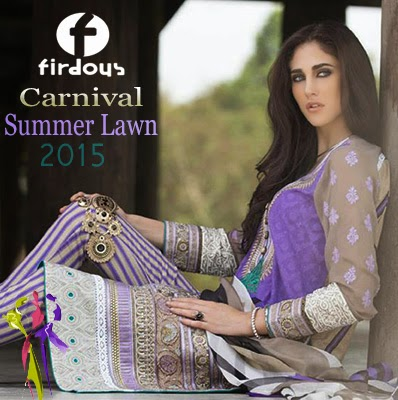 Firdous Carnival 3-PC Summer Lawn Collection