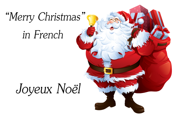 how to say merry christmas in french