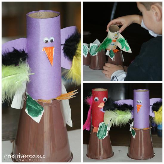 Toilet Paper Parrots