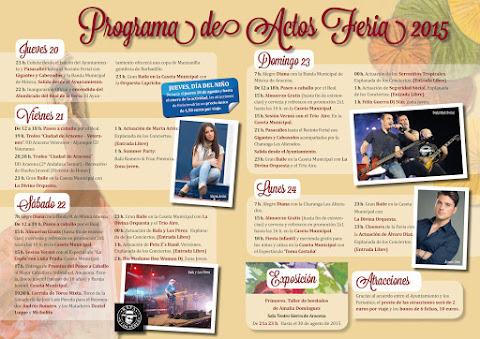 Aracena - Programa de Feria 2015