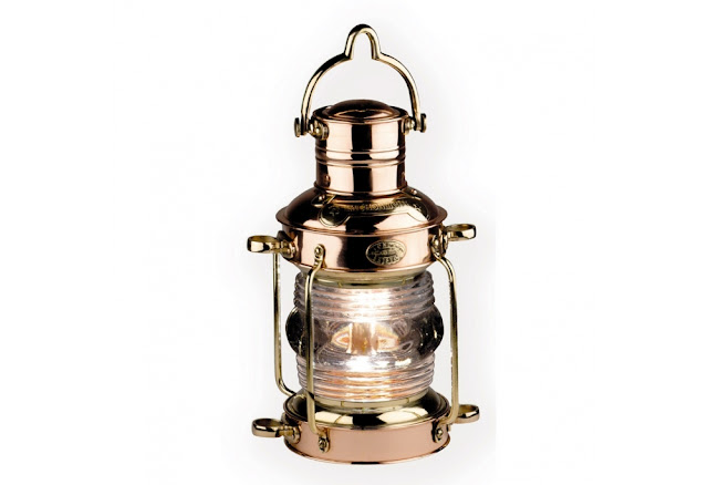 Brass Anchor Light