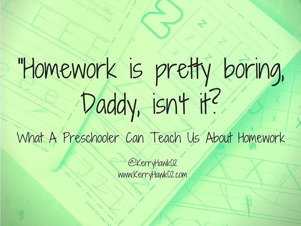 The Question Isnt How Much Homework Its >> Start With A Question May 2016