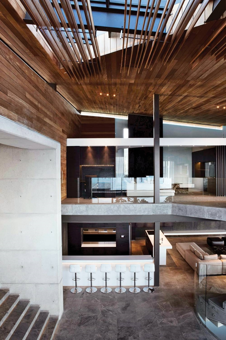 Interior of Cove 3, modern dream home by SAOTA