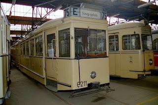 Museum + Bus + Straßenbahn: Endstation Sehnsucht (6): Betriebshof NiederschönhausenSpielzeug für große Jungs, aus Berliner Zeitung