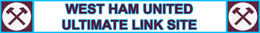 The Ultimate West Ham United link site