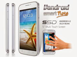 Spesifikasi Dan Harga Advan Vandroid S5D