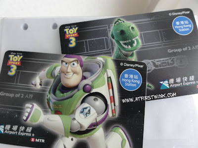 Toy Story 3 Airport Express tickets